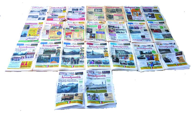 Årstadpostens nettavis med 23 år lokalhistorie