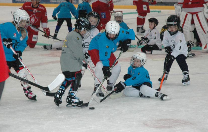 Engasjement og spilleglede preget de yngre spillerne. BIK har mange gode lag i de aldersbestemte klassene.