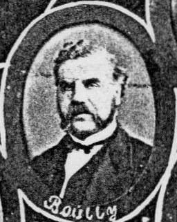 August Alfred Bouilly (1819 – 1886), eier av Øvre Solheimslien gård og senere direktør for Vigsnæs Kobberværk på Karmøy.