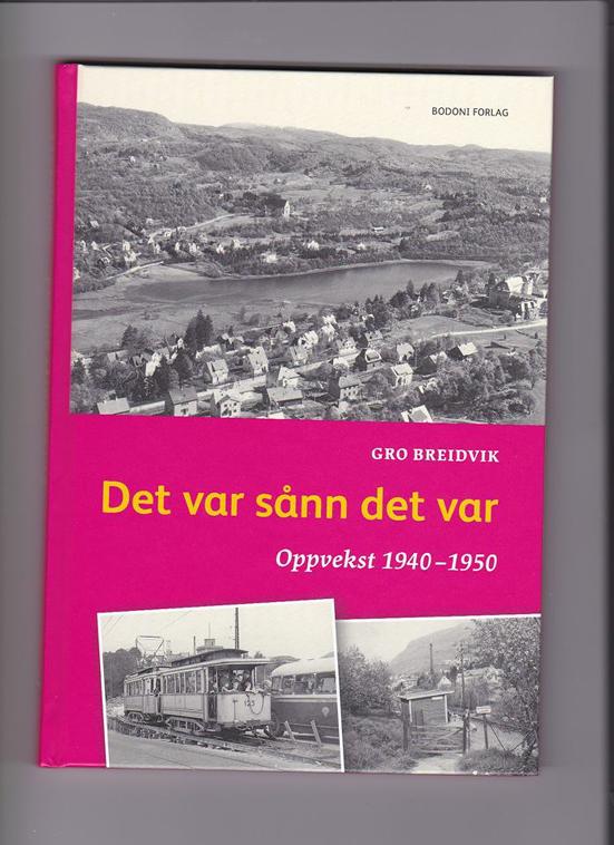 """""""Det var sånn det var"""" er boken om livet som barn på Kristianborg på 1940-tallet."""