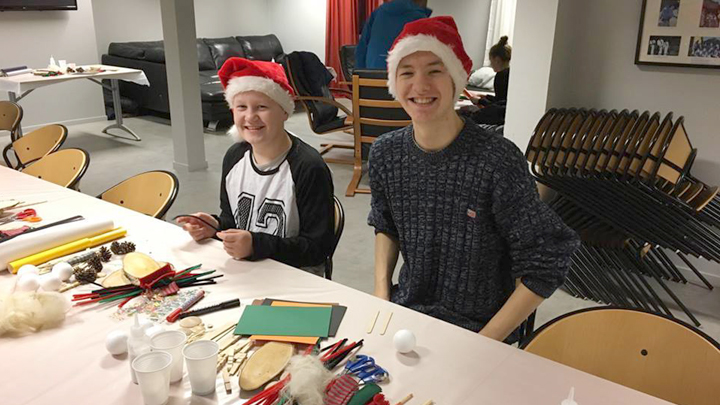 Juleaktiviteter i Sambrukshuset