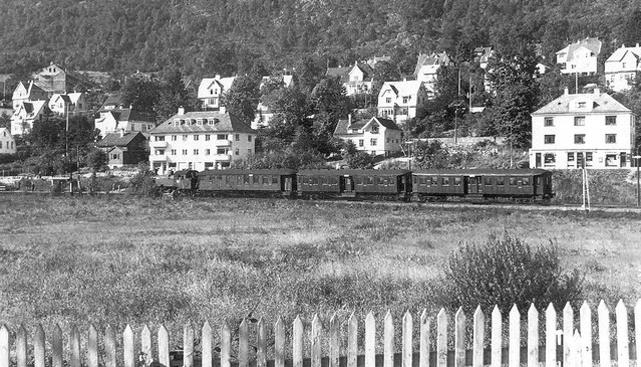 Kristianborg i 1950.