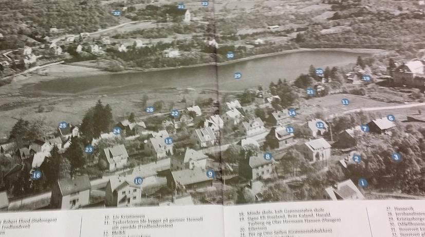 Oppvekst på Kristianborg på 1940-tallet
