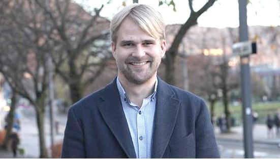 Pål Hafstad Thorsen i pappapermisjon