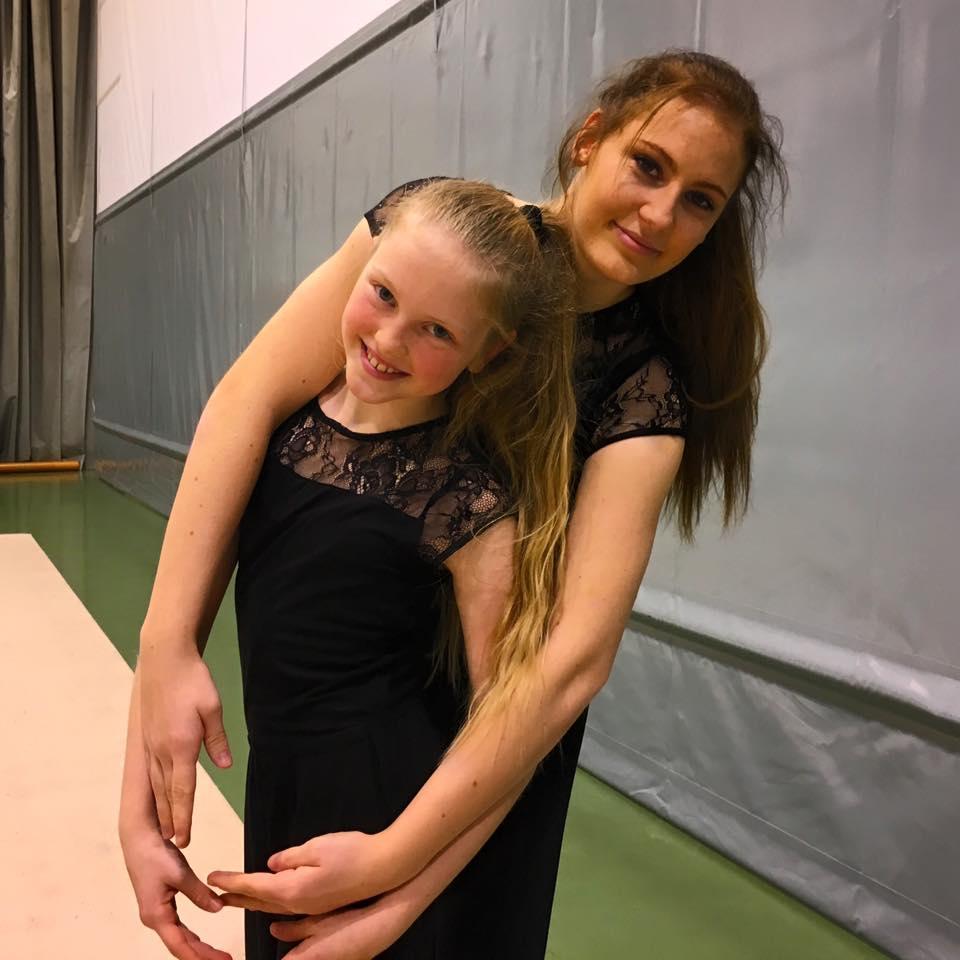Fineste øyeblikk søstrene Aurora og Emma Lillebø, Bergens Turnforening.