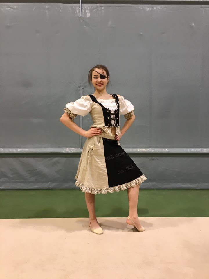 Zuzanna Labun fikk prisen for beste kostyme.