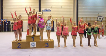 To førsteplasser til Bergens Turnforening i Norgescupen i Rytmisk Gymnastikk