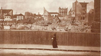 Hundre år siden bybrannen i Bergen