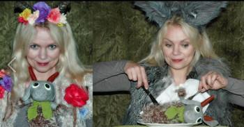 Alveslottet Dukketeater med «Ulven og de sju geitekillingene» på Nye Scala