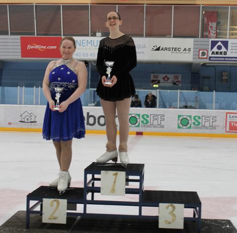 Veteran kvinner ble vunnet av Solveig Rørosgaard fra Møllendal. Foto Karina Koller Løland