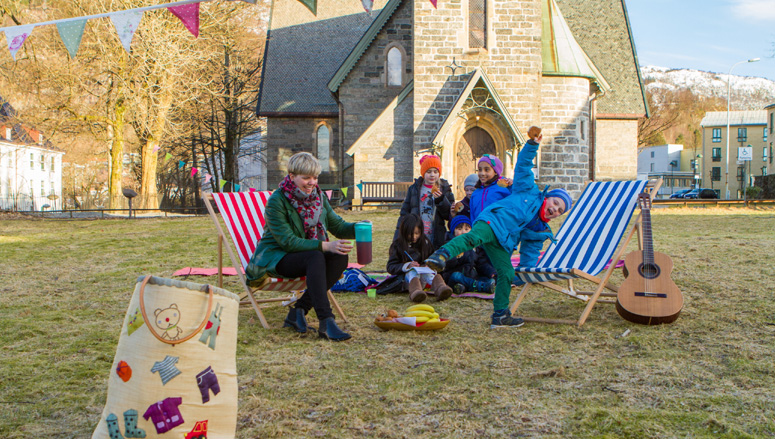 Kirkekaffefestival på Årstadhøyden