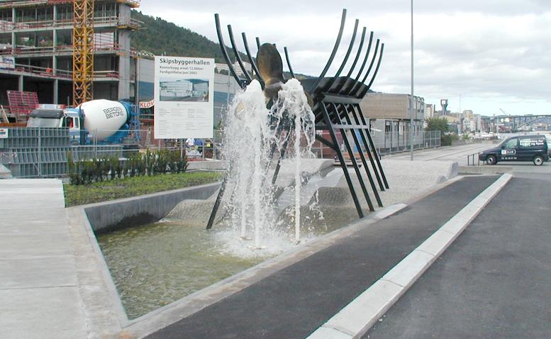 «Propellen», minnesmerket om 130 års skipsbyggingshistorie i Solheimsviken