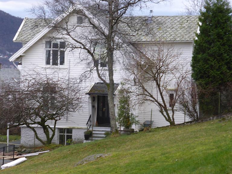 Bare noen få gamle gårdshus ligger igjen på Løvstakksiden, Dette er våningshuset på Ny-Krohnborg eller Blekenberg gård. I 1860-årene var gården den tredje største i Solheimsbygden, målt etter vedlikeholdsplikt av veilengde. Hovedhuset er en sveitserbygning med glassveranda i to etasjer og rik dekor. Fremdeles ligger det fritt i terrenget og rester av den gamle trebeplantede gårdsveien som førte opp til våningshuset, finner vi i dag igjen som gangvei mellom Løvstakkveien og Blekenberg.