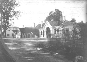 Haukeland var en jordbruksbygd før sykehuset ble bygget