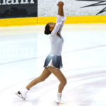 Klara Arima Blitzner (15) fra Landås ble nr. 1 i sin debut i Basic-klassen nasjonalt i Oslo. Foto Susan Fraser