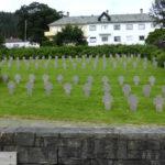 1085 falne tyske soldater fra andre verdenskrig sitt siste hvilested på Solheim gravplass.