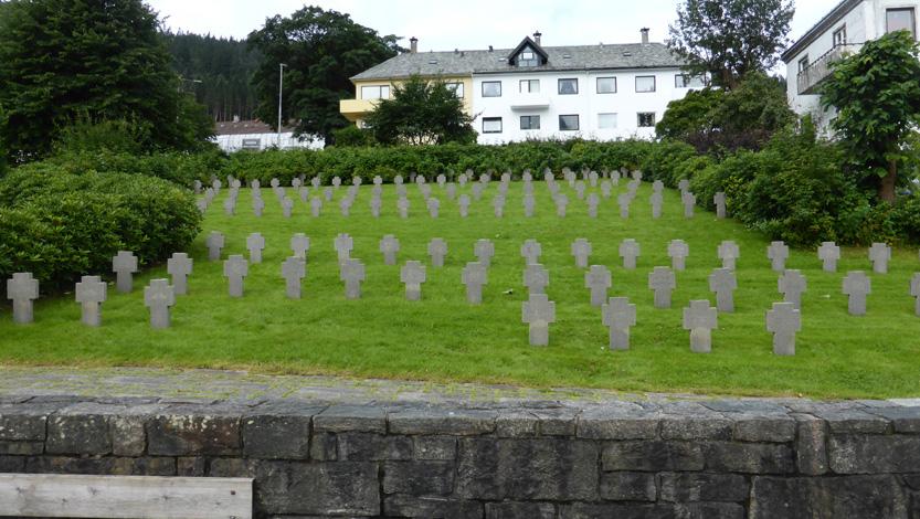 1085 tyske soldater fikk sitt siste hvilested på Solheim gravplass