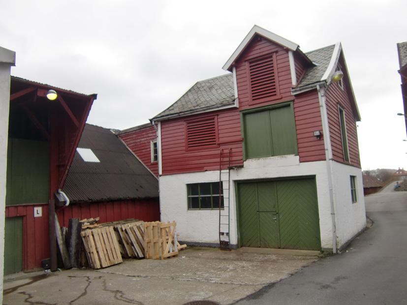 Bygningene i Fjøsangerveien 71 har en spennende historie. De fleste er bygget mellom 1915 og 1925.