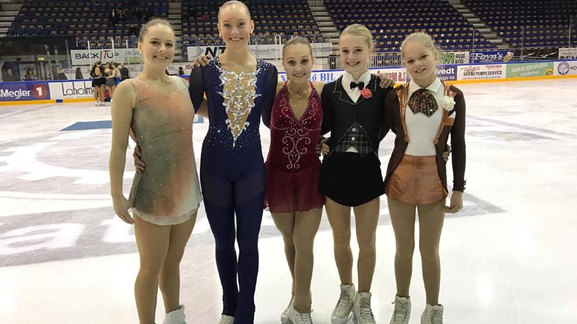 Førsteplass til Klara Arima Blitzner i Norgescupen