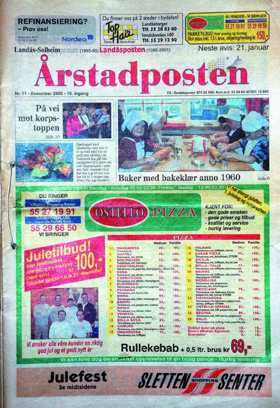 I 2001 fikk avisen navnet Årstadposten.