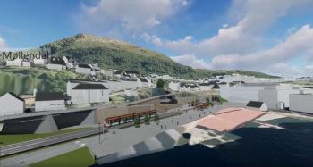 Planforslag for Bybanen fra sentrum til Fyllingsdalen