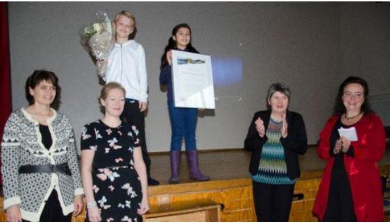 Slettebakken skole fikk pris for fisking og forskning i Tveitevannet