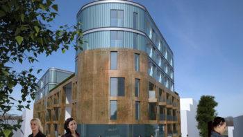 Positiv til større blokk for å kunne bygge p-anlegg for hele Wergeland