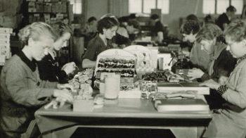 Flyttet fabrikken til Solheim og bygde boliger for medarbeiderne