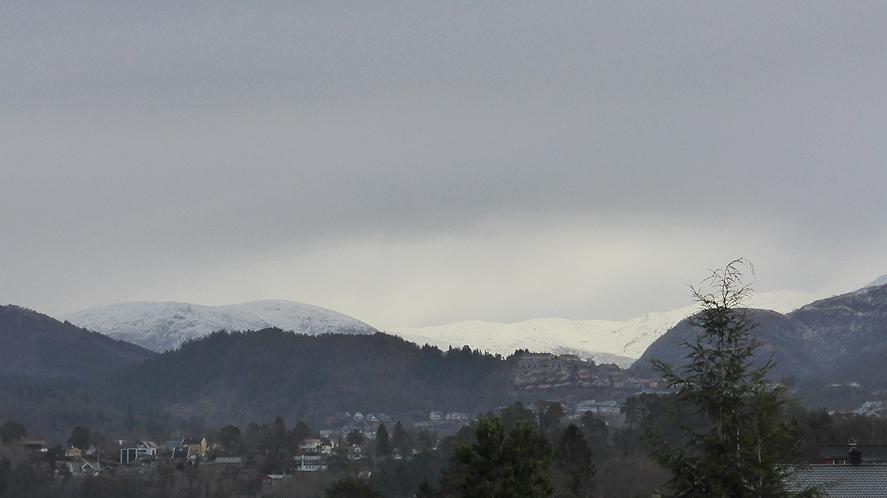 Gullfjellet våteste sted med nedbørmålinger i Norge
