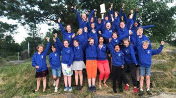 Landås skoles musikkorps vant 3 divisjon i NM for janitsjarkorps