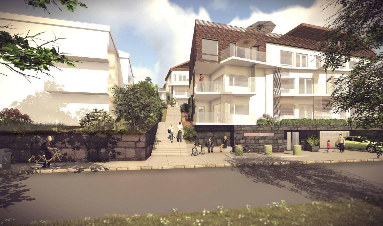 To sveitservillaer foreslås revet og erstattet av 24 nye boliger