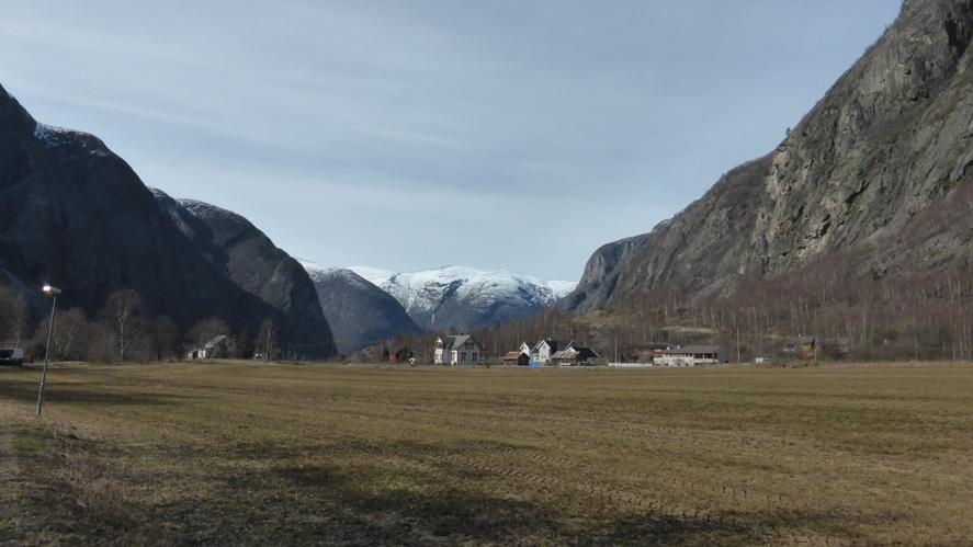 Gullfjellet fikk ti ganger mer sommerregn enn Lærdal