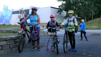 Gå-til-skolen-kampanjen «Beintøft» med avspark på Landås skole