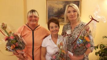 25 års jubilanter i Hjemmesykepleien, sone Solheim