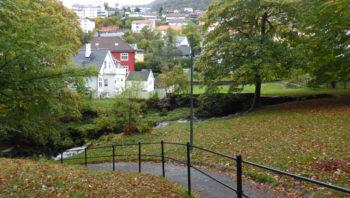 Flere hundreår med mølledrift øverst i Christieparken