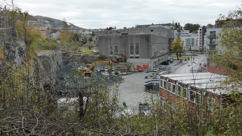 I februar starter anleggsarbeidene i Møllendal på Bybanens 4. byggetrinn