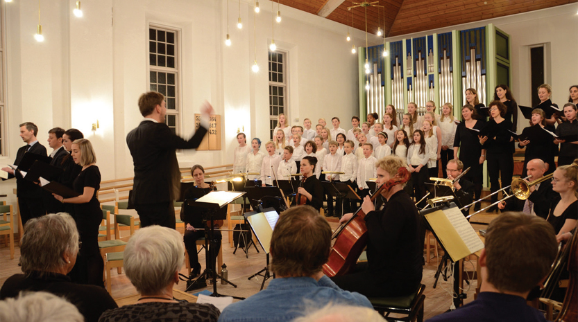 Fridalen kirke er 80 år, markerer med Åpen helg og konsert