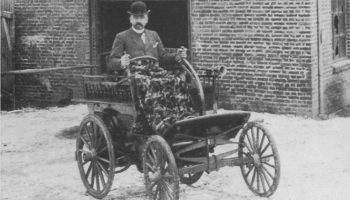Norges første bil ble trolig bygget i Minde-området
