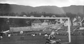 Christen K. Grans iherdige innsats sørget for at Brann Stadion ble lagt til Fridalen