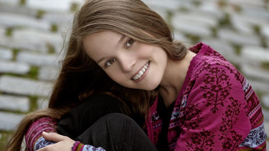 Tomine Mikkeline Eide i Kristin Lavransdatter-musikal på DNS