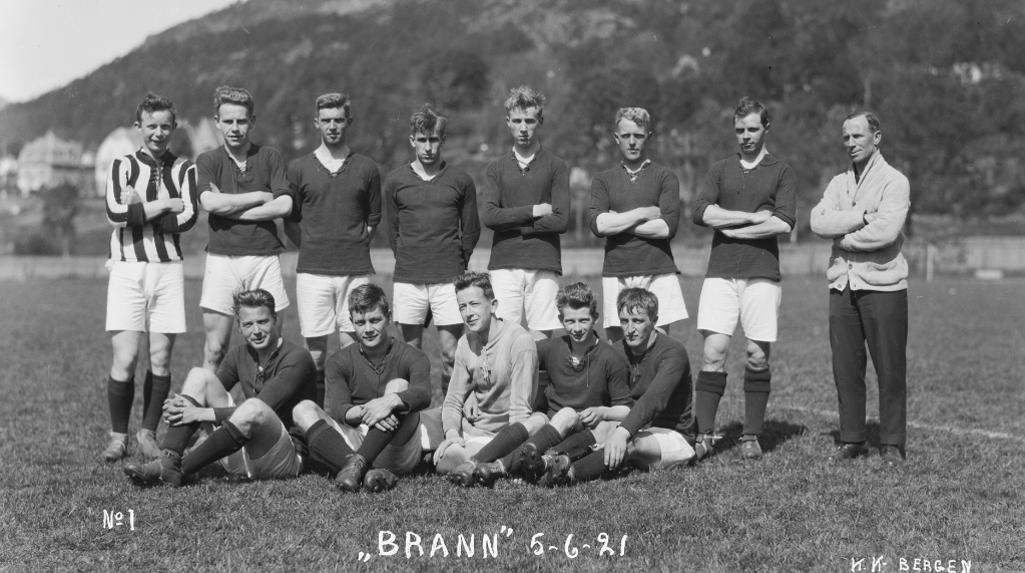 I 1918-sesongen vant Brann 23 av 25 kamper
