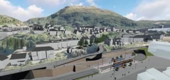 Møllendalsveien stenges for gjennomkjøring i Fløen