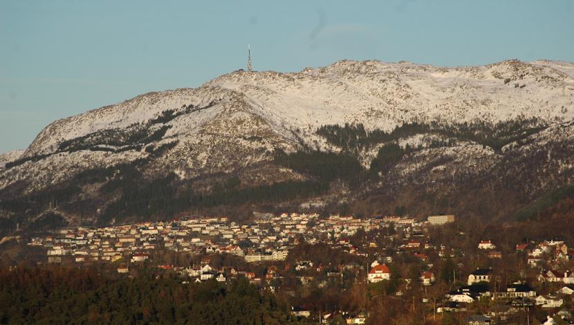 Bergen på høyde med Bilbao i Spania i solskinnstimer de siste to årene