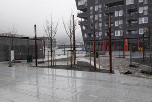 Fløttmannsplassen nærmer seg fullføring
