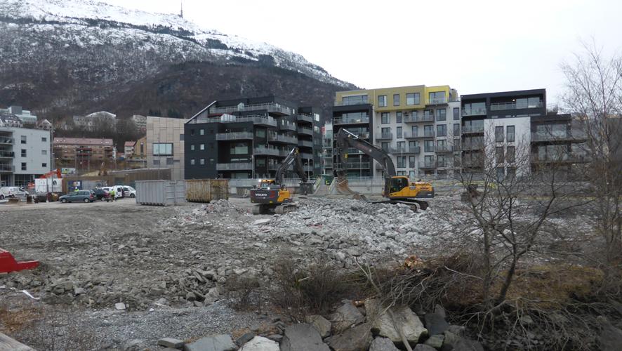 """Veidekke bygger 50-70 boliger på """"Høyhustomten"""""""