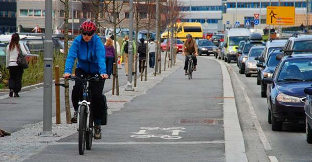 I 2019 skulle 10 % av reisene i Bergen skje med sykkel og hovedsykkelnettet være ferdig utbygd