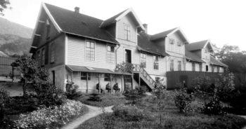 Bybanestopp med fortid som fornøyelsespark og sinnssykehus