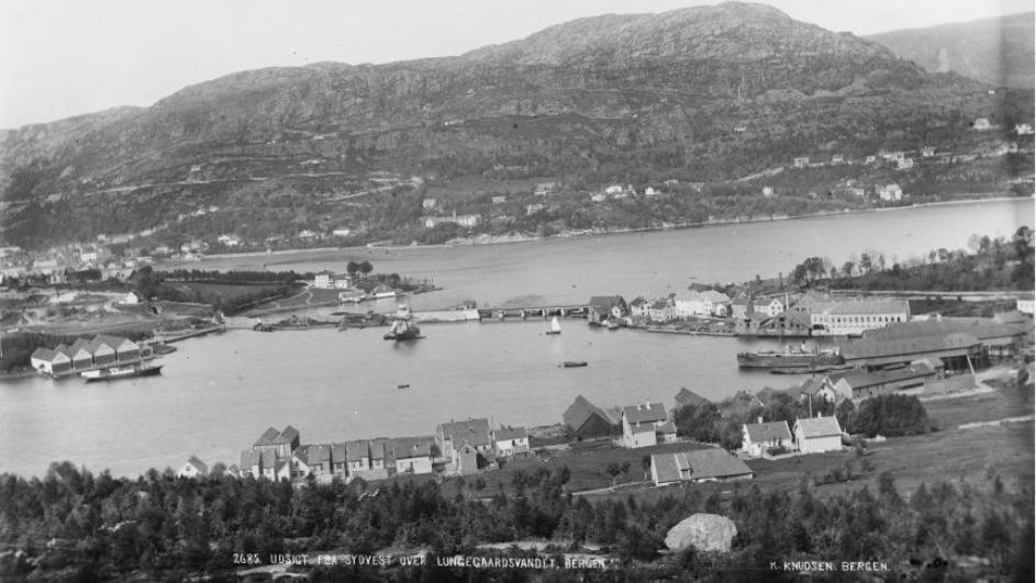 Bergen 1885: kart og fotominner fra en by der det meste er forandret