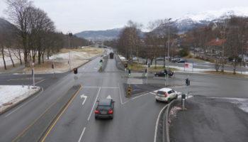 Betydelig nedgang i trafikken på hovedveiene i Årstad