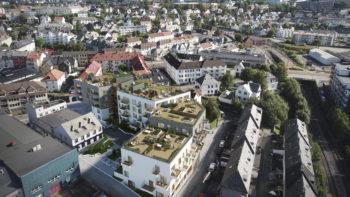 Østre Fabrikkgaten blir sammenhengende boligområde